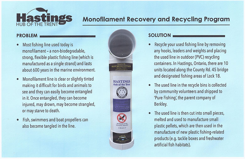 Monofilament Recovery and Recycling Program